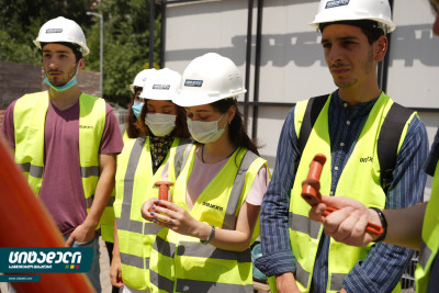 Citadeli hosted a meeting with Agricultural University's 2nd grade students of Engineering Faculty
