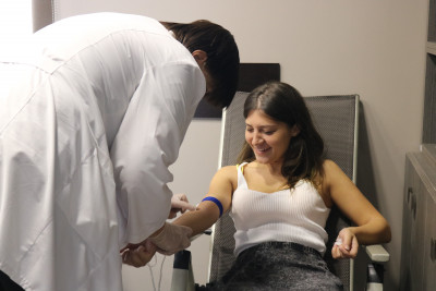 The action of unselfish blood donation at Citadeli