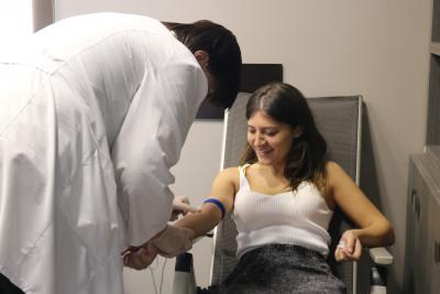 სისხლის უანგარო დონაციის აქცია ციტადელში