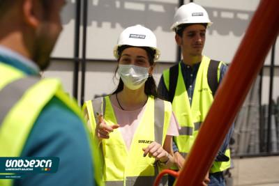 კომპანია ციტადელმა, აგრარული უნივერსიტეტის, მშენებლობის ინჟინერიის მიმართულების მეორე კურსის სტუდენტებს უმასპინძლა