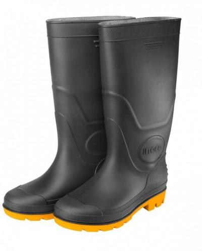 მაღალყელიანი საწვიმარი ფეხსაცმელი შავი (SSH092LYB.46)